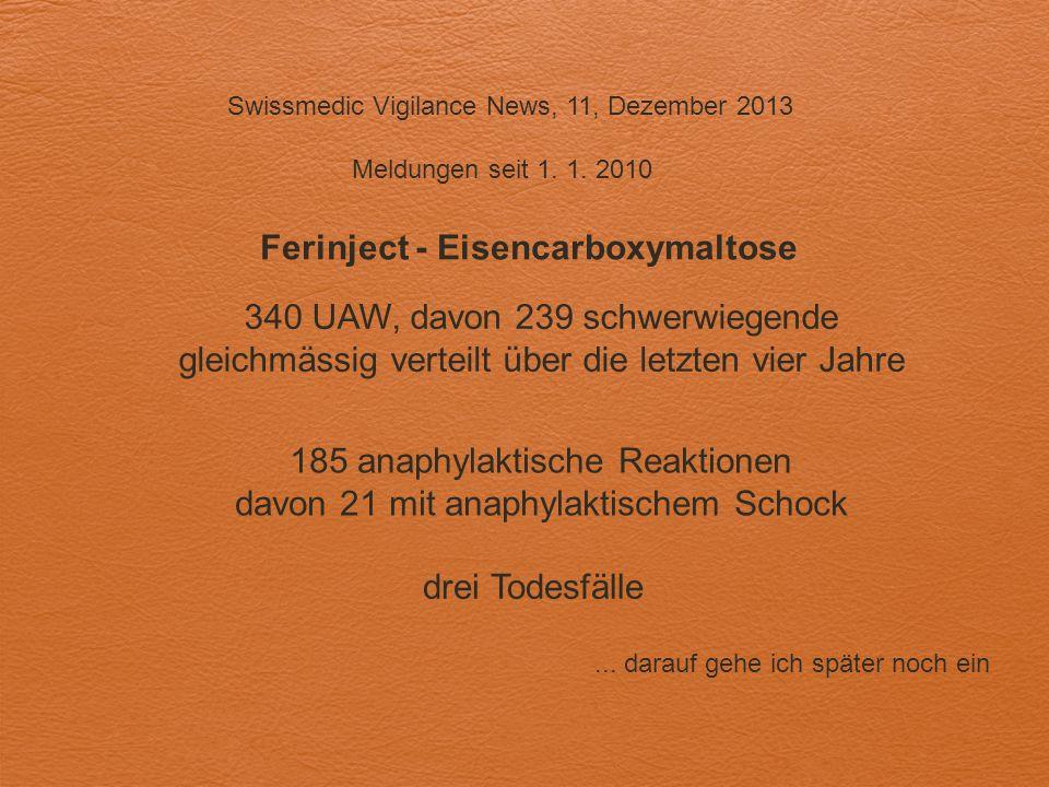 Ferinject - Eisencarboxymaltose