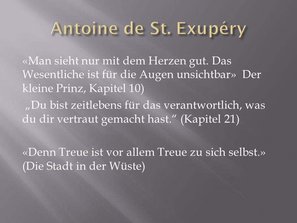 Antoine de St. Exupéry