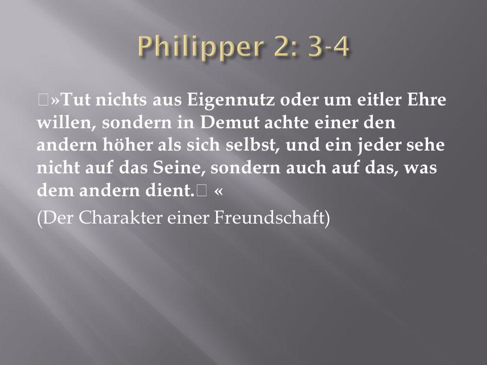 Philipper 2: 3-4