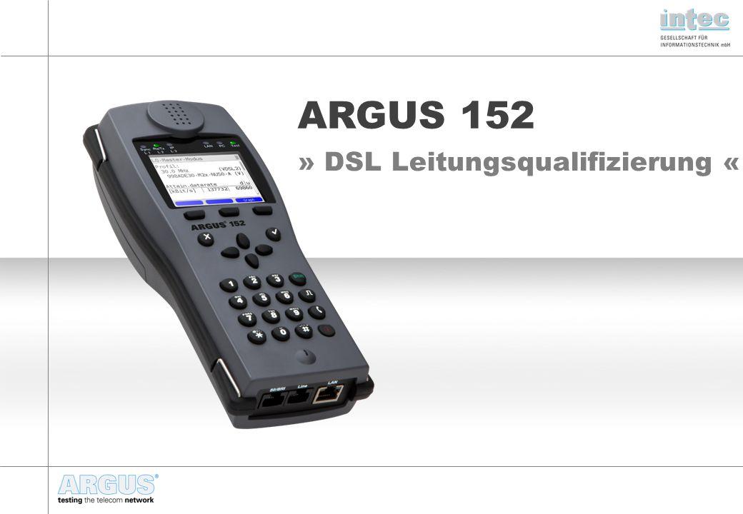 » DSL Leitungsqualifizierung «