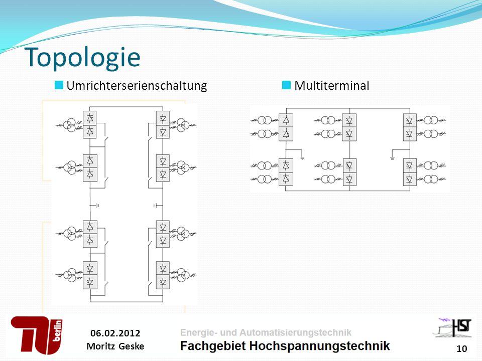 Topologie Umrichterserienschaltung Multiterminal