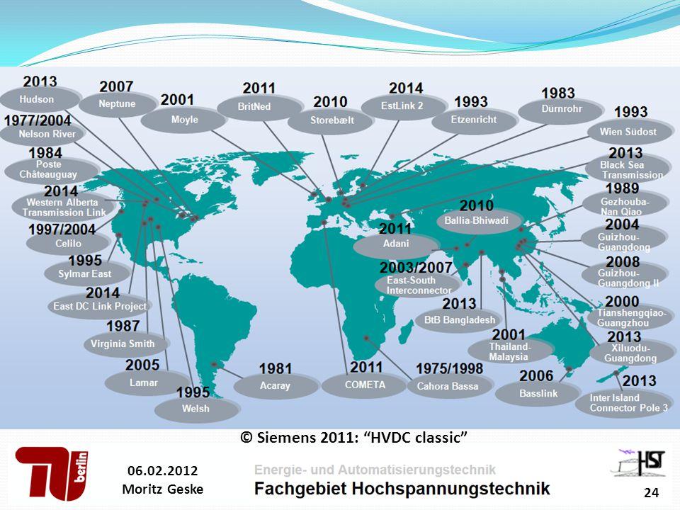 © Siemens 2011: HVDC classic