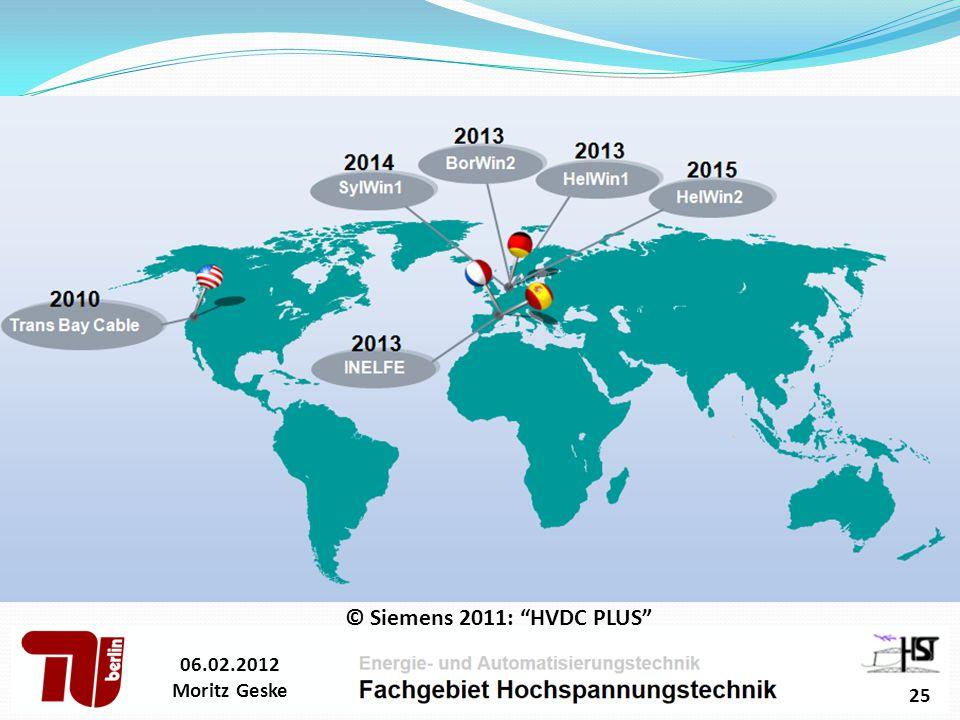 © Siemens 2011: HVDC PLUS 06.02.2012 Moritz Geske 25