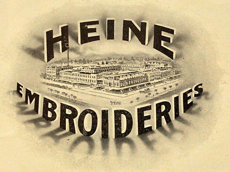 Arnold B. Heine & Co.: 1898 in Arbon gegründet
