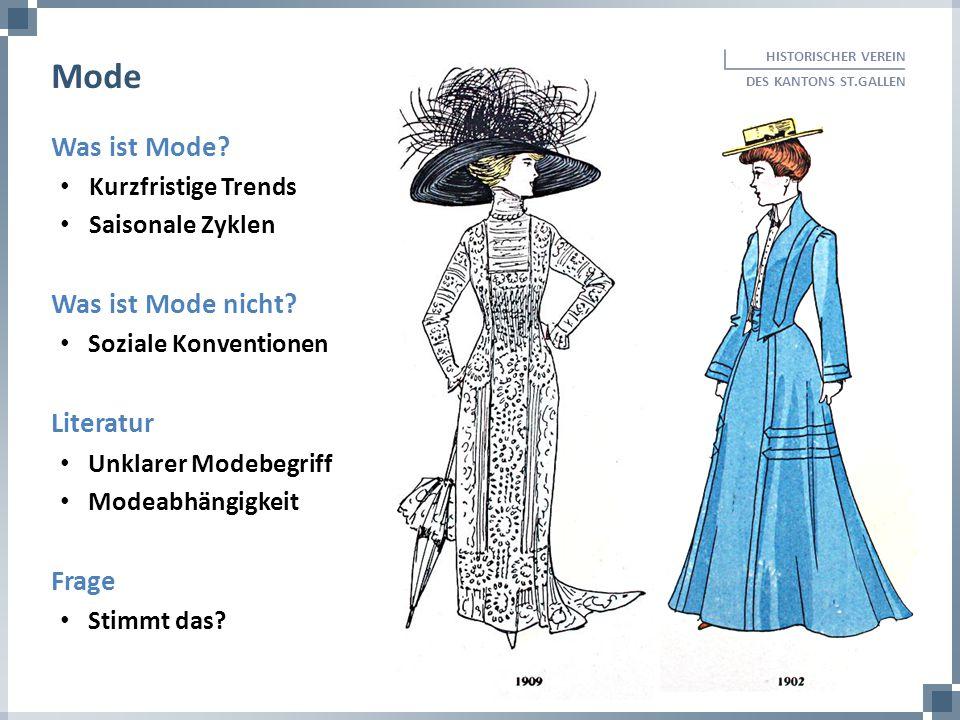 Mode Was ist Mode Was ist Mode nicht Literatur Frage