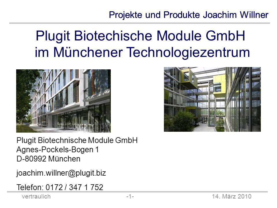 Plugit Biotechische Module GmbH im Münchener Technologiezentrum