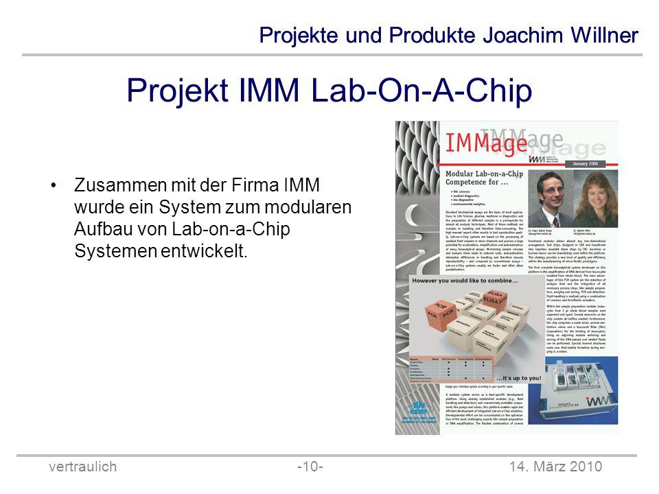 Projekt IMM Lab-On-A-Chip