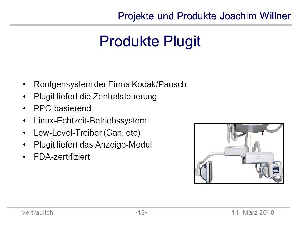 Produkte Plugit Röntgensystem der Firma Kodak/Pausch