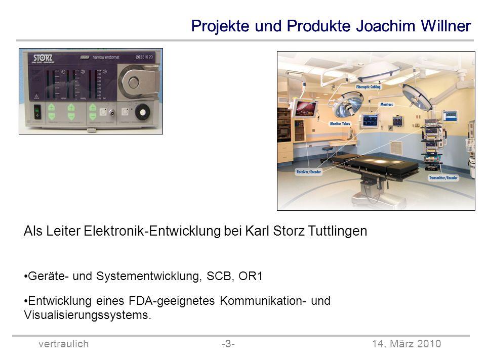 Als Leiter Elektronik-Entwicklung bei Karl Storz Tuttlingen
