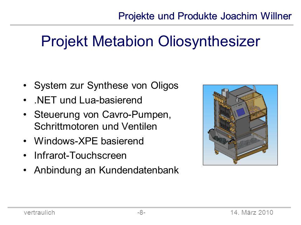 Projekt Metabion Oliosynthesizer