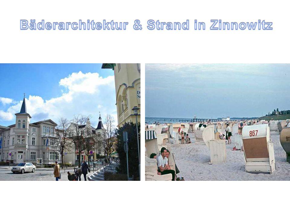 Bäderarchitektur & Strand in Zinnowitz