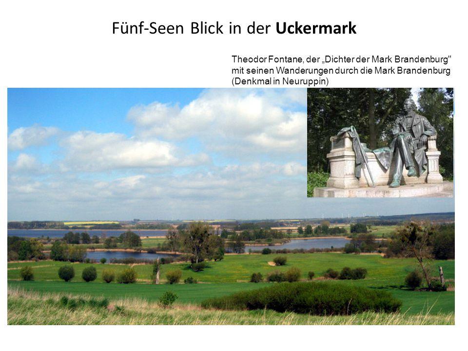 Fünf-Seen Blick in der Uckermark