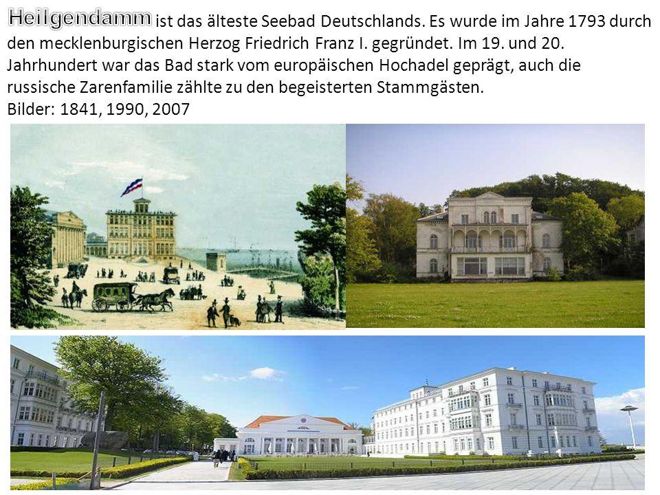 ist das älteste Seebad Deutschlands