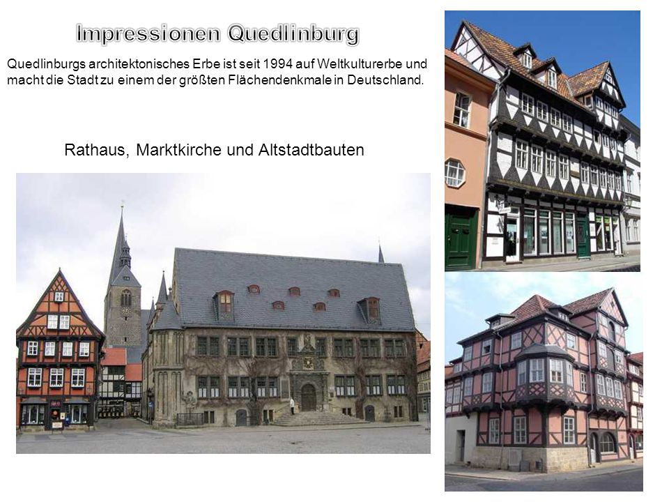 Impressionen Quedlinburg