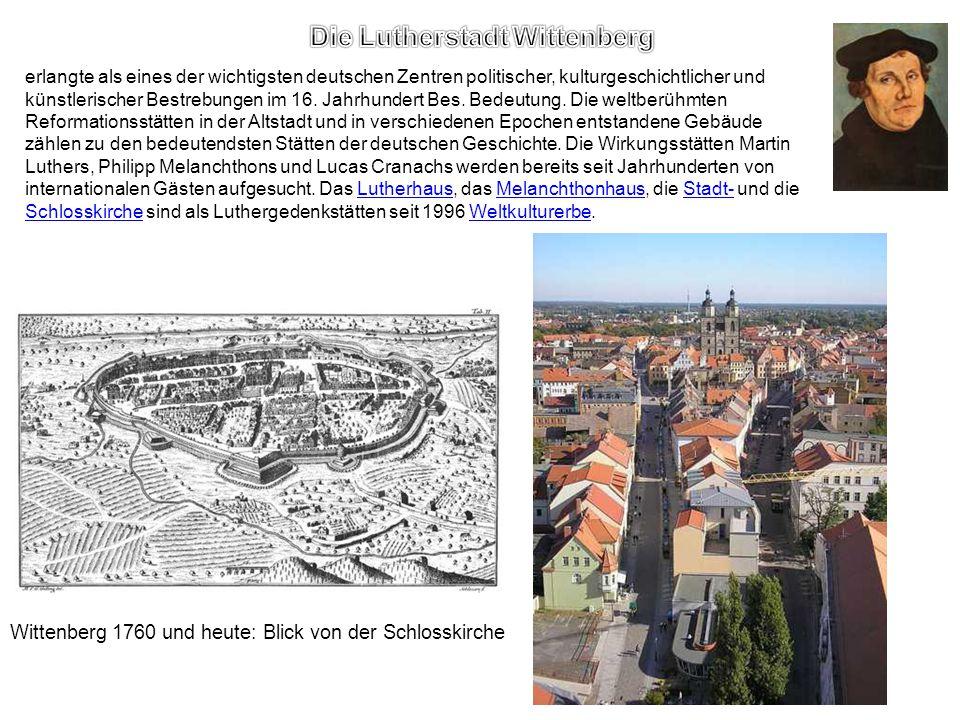 Die Lutherstadt Wittenberg