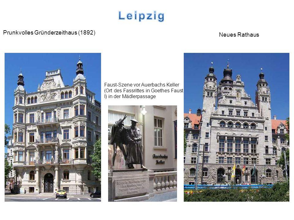 Leipzig Prunkvolles Gründerzeithaus (1892) Neues Rathaus