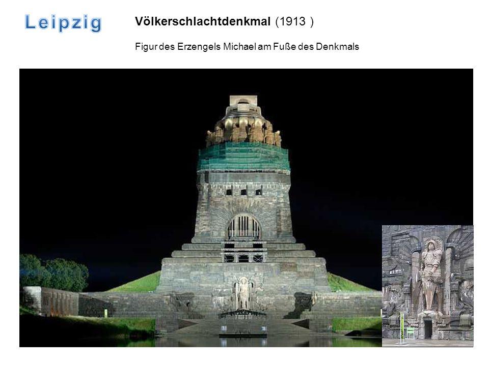 Leipzig Völkerschlachtdenkmal (1913 )
