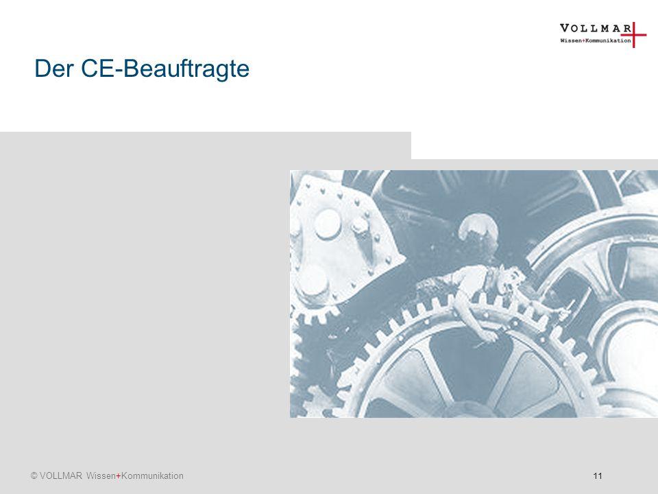 Der CE-Beauftragte
