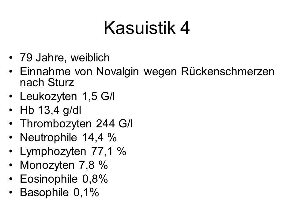Kasuistik 4 79 Jahre, weiblich