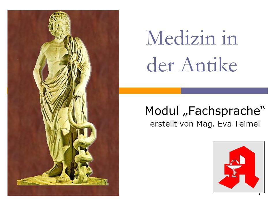 """Modul """"Fachsprache erstellt von Mag. Eva Teimel"""