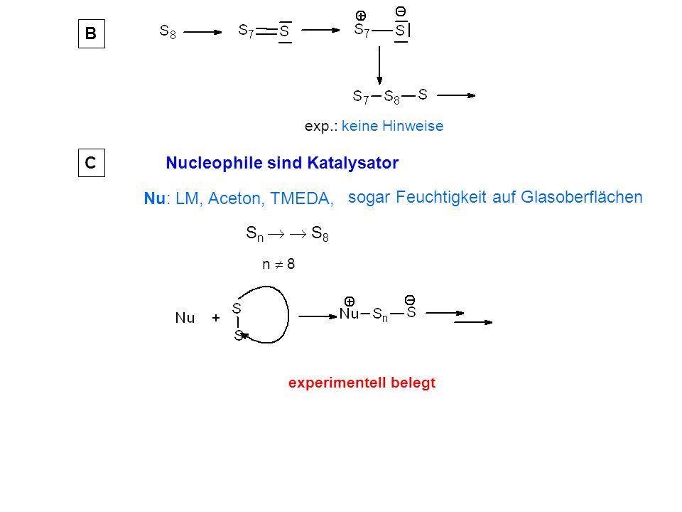 Nucleophile sind Katalysator