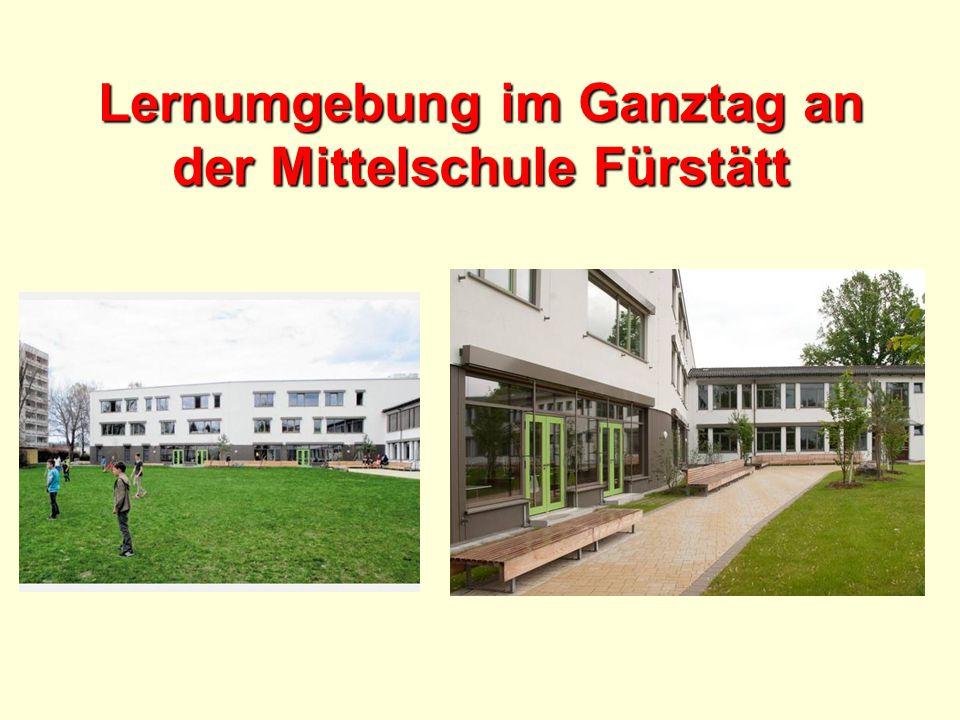 Lernumgebung im Ganztag an der Mittelschule Fürstätt