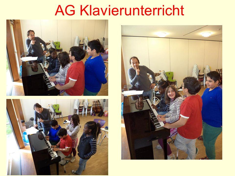 AG Klavierunterricht