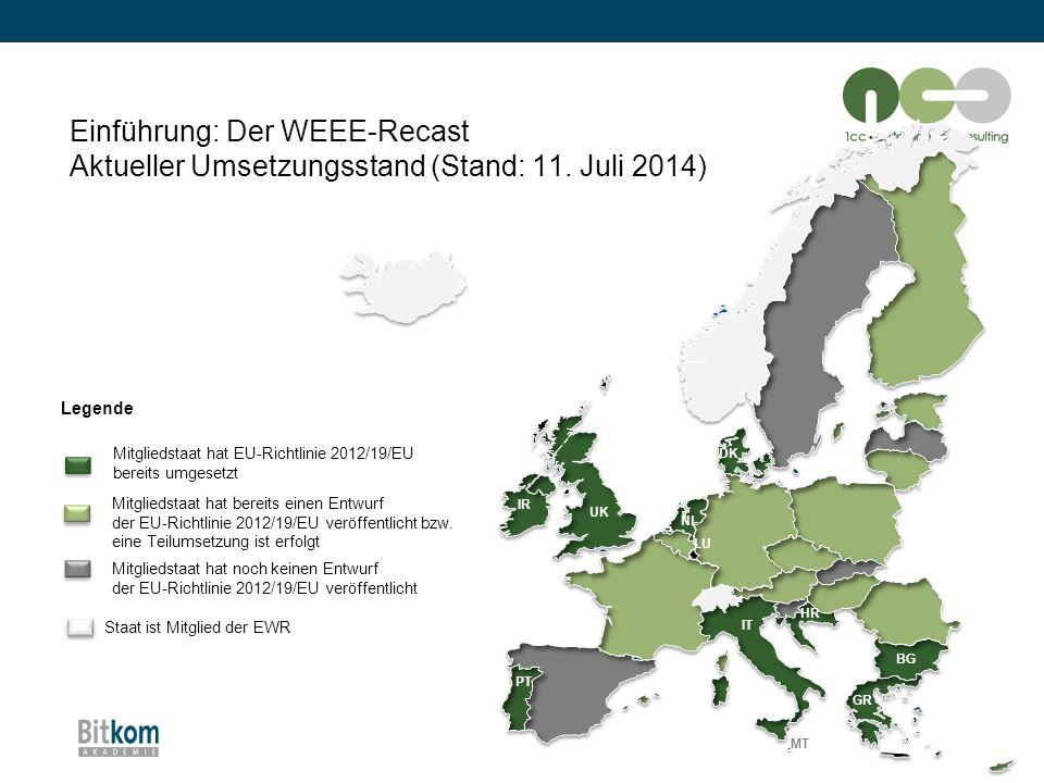 Staat ist Mitglied der EWR