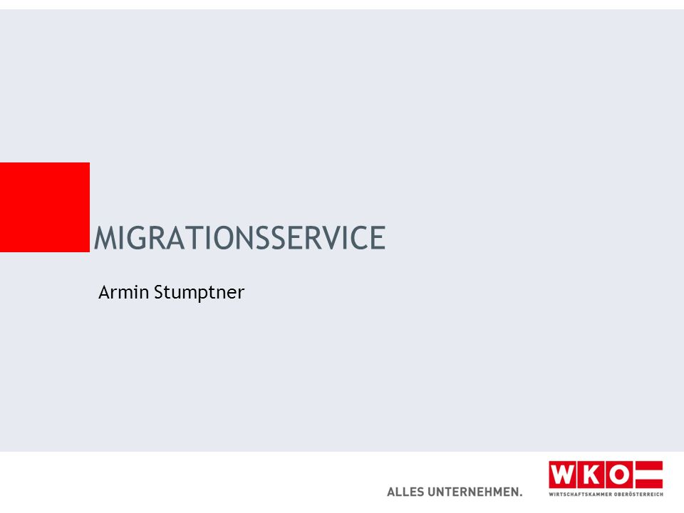 MIGRATIONSSERVICE Armin Stumptner