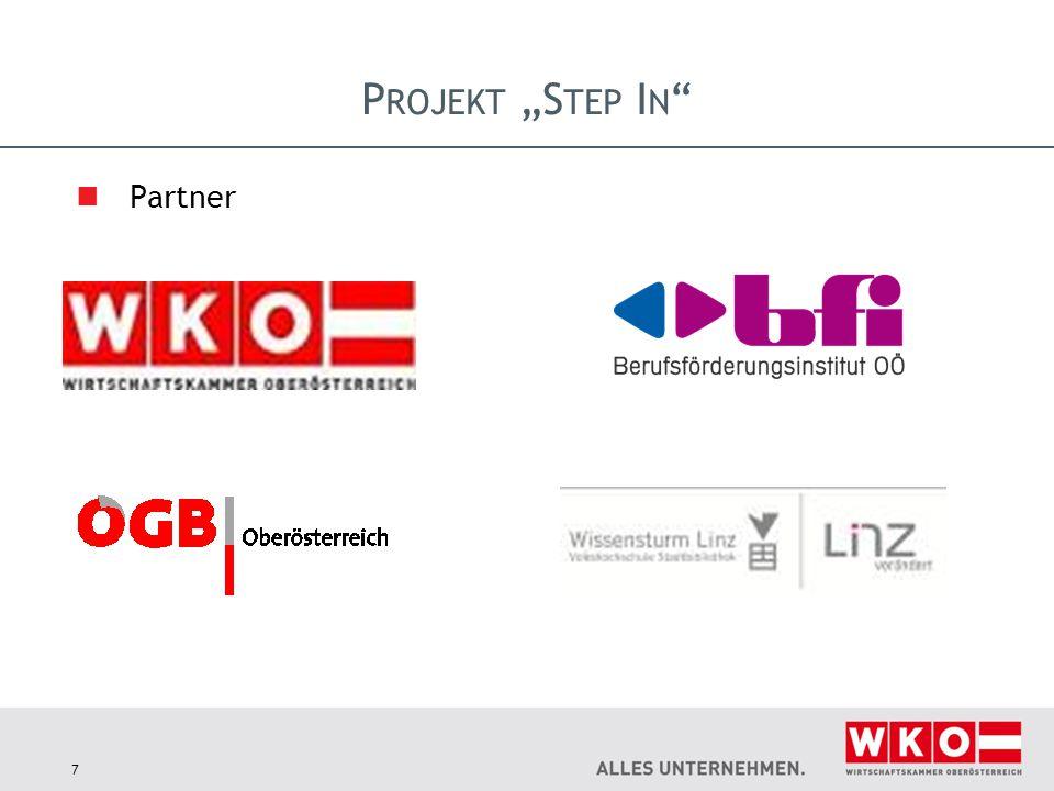 "Projekt ""Step In Partner"
