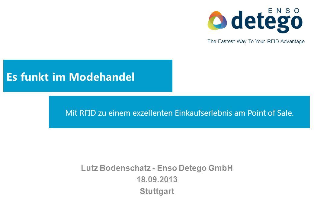 Lutz Bodenschatz - Enso Detego GmbH 18.09.2013 Stuttgart