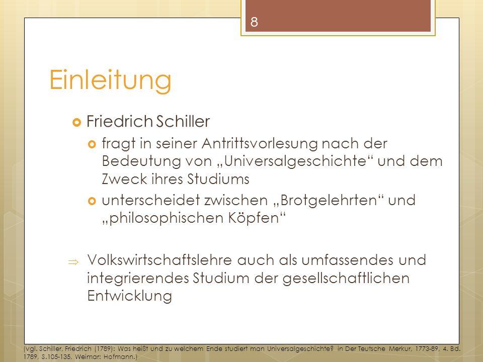 Einleitung Friedrich Schiller