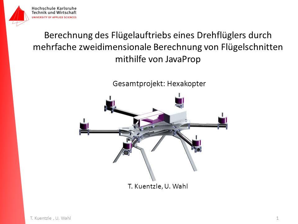 Gesamtprojekt: Hexakopter