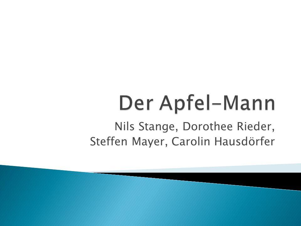 Nils Stange, Dorothee Rieder, Steffen Mayer, Carolin Hausdörfer