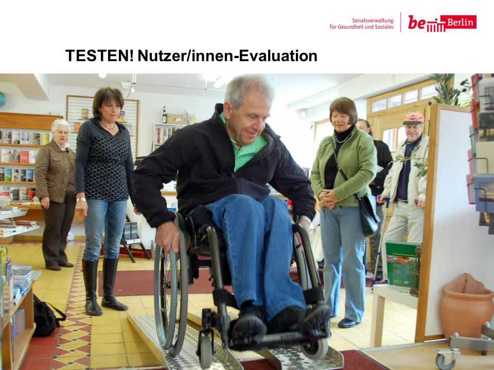 TESTEN! Nutzer/innen-Evaluation