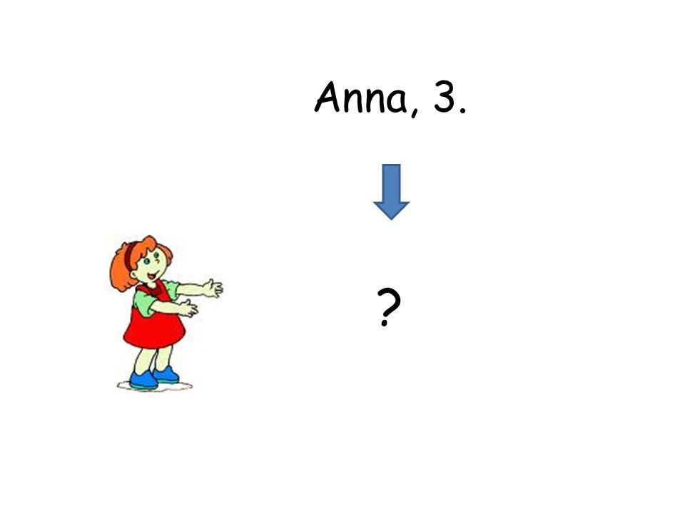 Anna, 3.