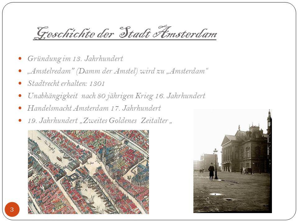 Geschichte der Stadt Amsterdam