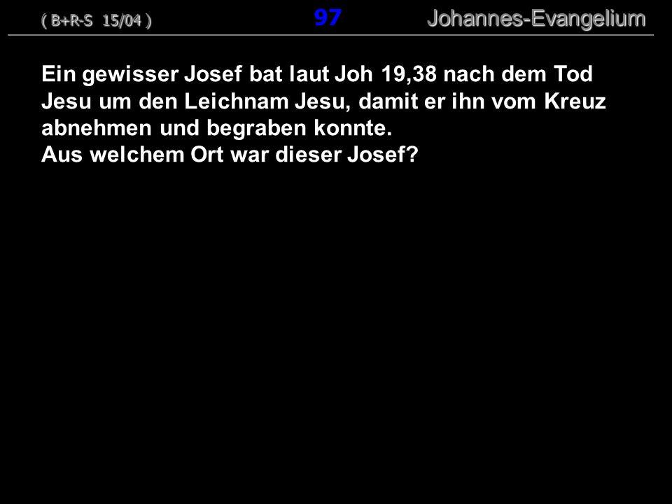 Aus welchem Ort war dieser Josef