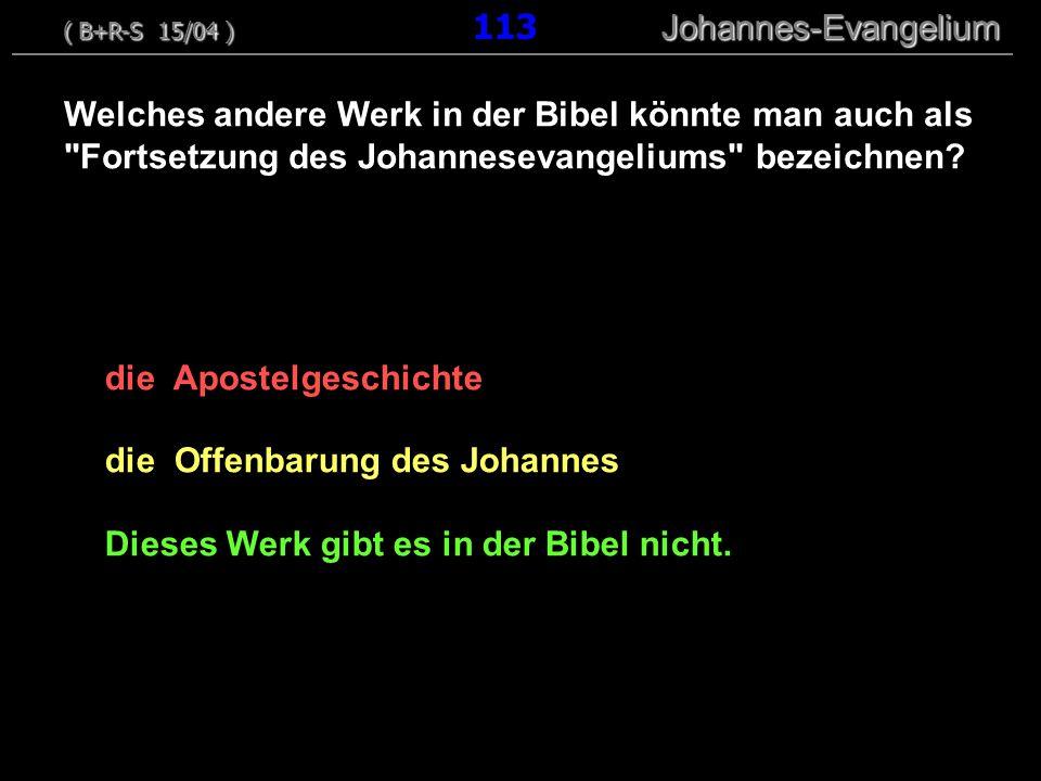 die Apostelgeschichte die Offenbarung des Johannes