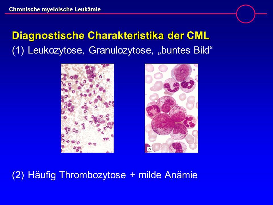 Diagnostische Charakteristika der CML