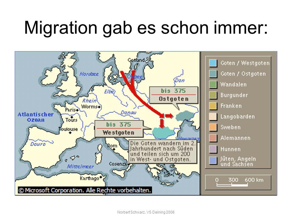 Migration gab es schon immer: