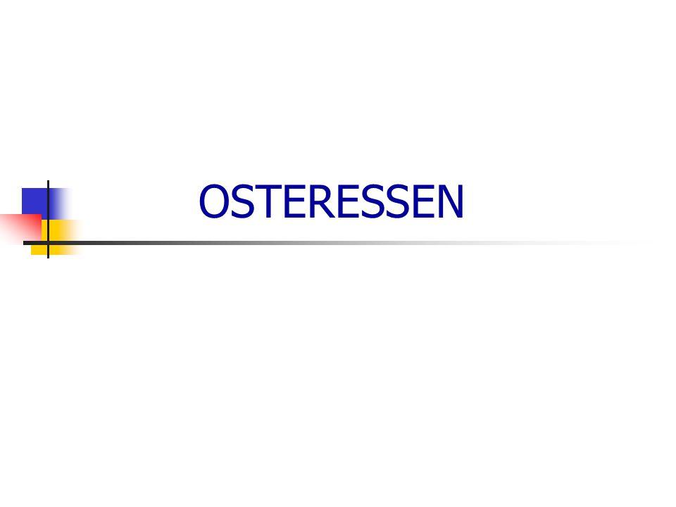 OSTERESSEN