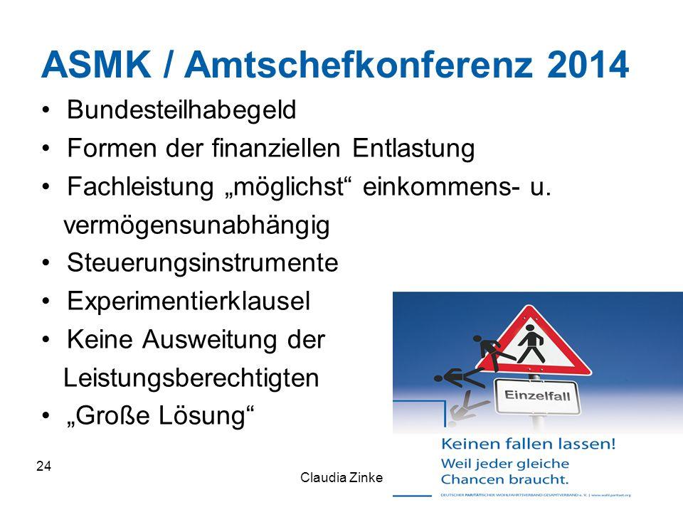 ASMK / Amtschefkonferenz 2014
