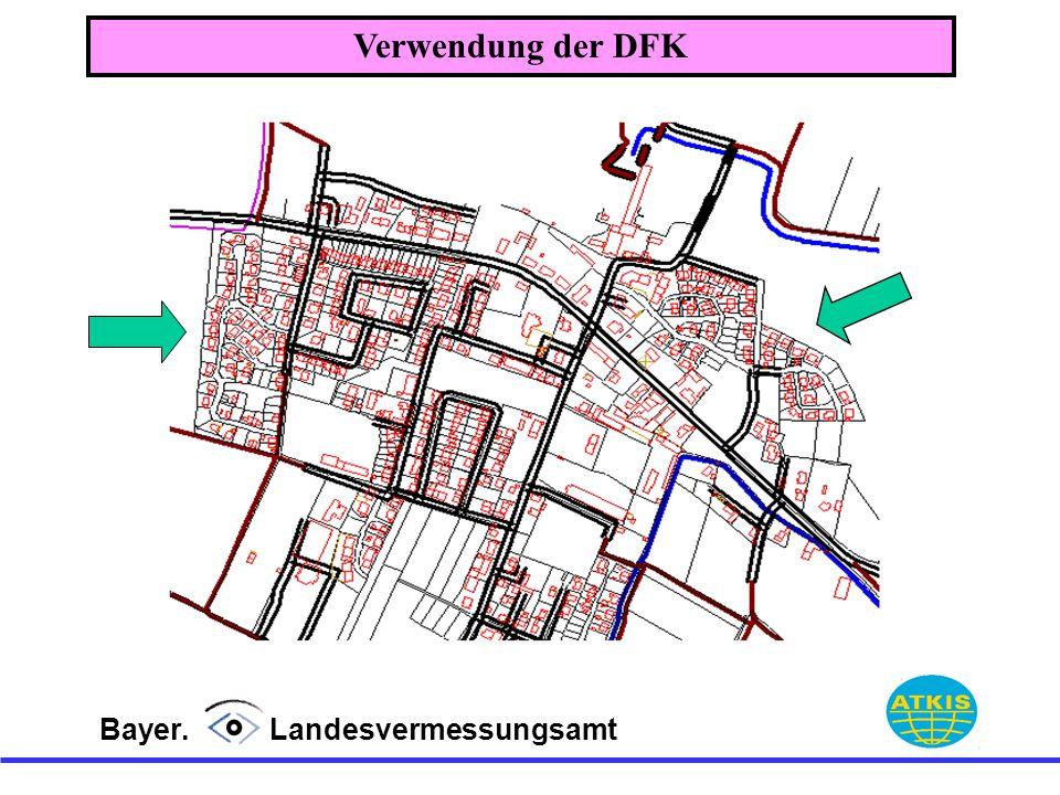 Verwendung der DFK Bayer. Landesvermessungsamt