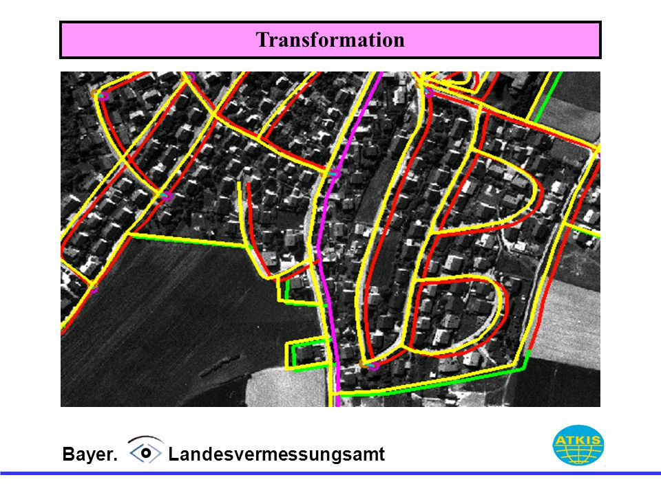 Transformation Bayer. Landesvermessungsamt