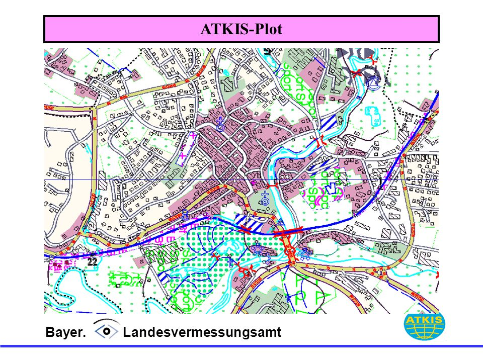 ATKIS-Plot Bayer. Landesvermessungsamt