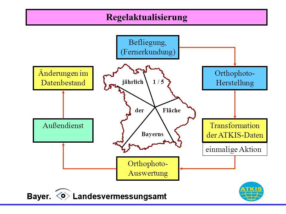 Regelaktualisierung Befliegung, (Fernerkundung)