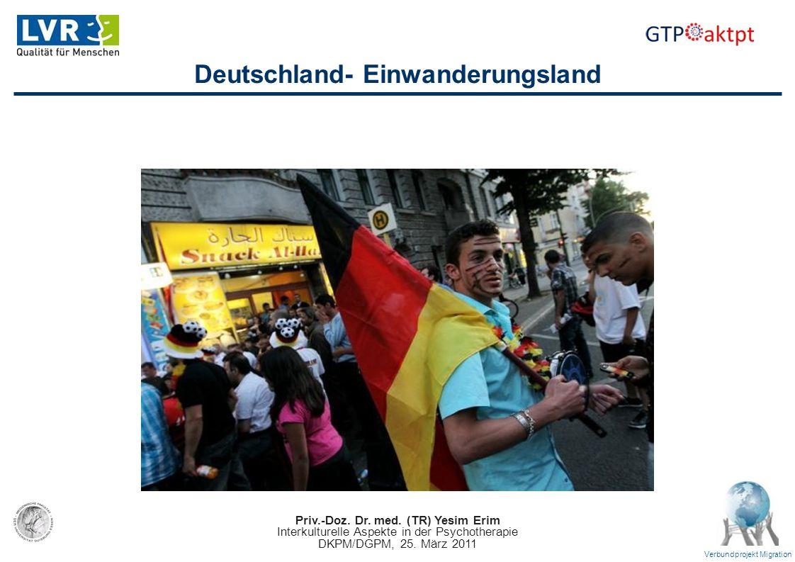 Deutschland- Einwanderungsland