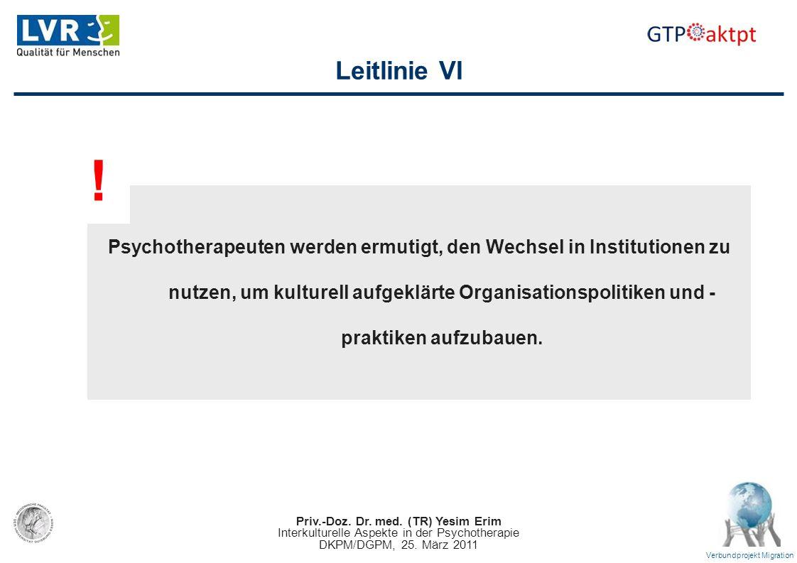 Leitlinie VI !