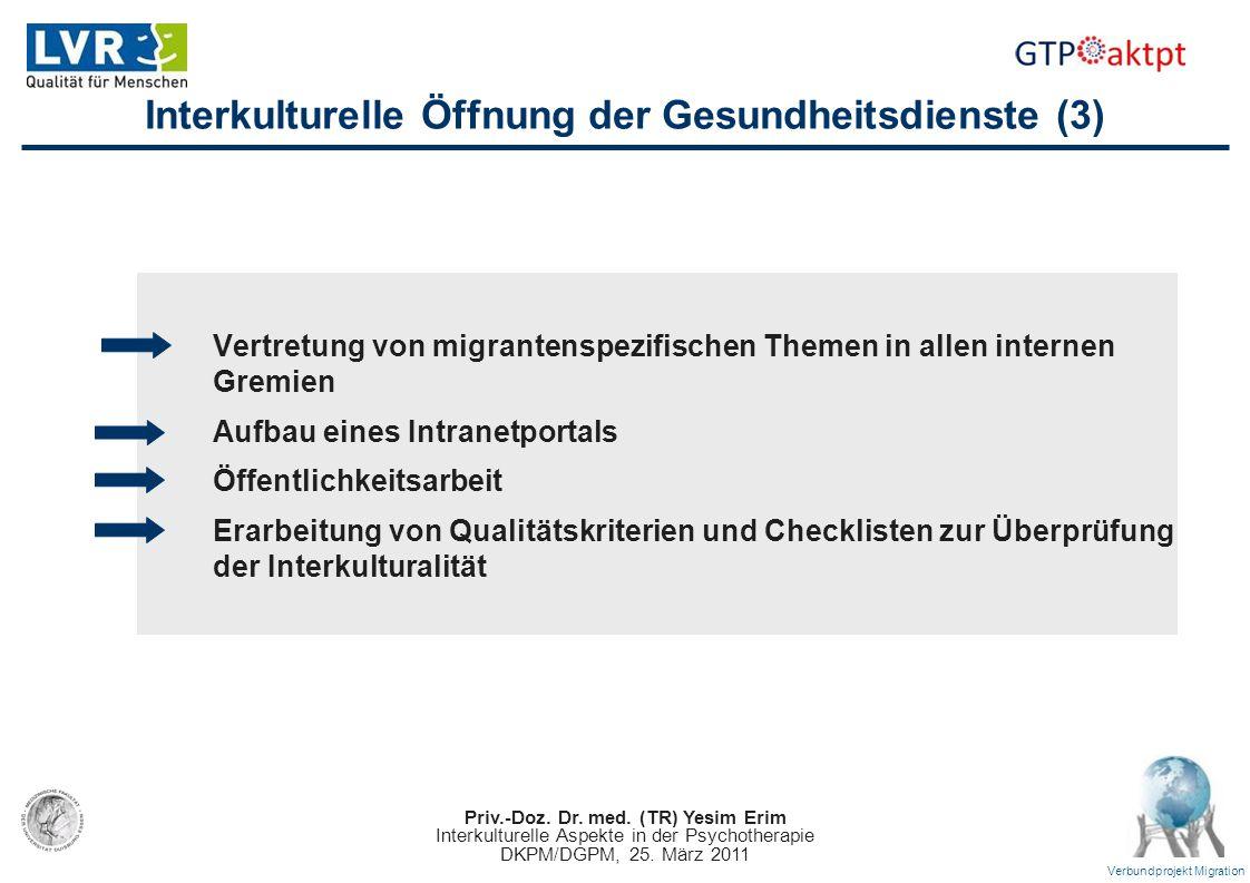Interkulturelle Öffnung der Gesundheitsdienste (3)